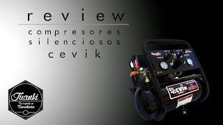 COMPRESORES ULTRASILENCIOSOS CEVIK / Review cevik prosilent  - NO HACE RUIDO!