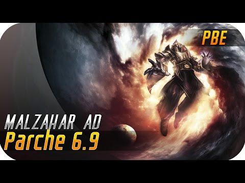PARCHE 6.9 MAGOS | MALZAHAR AD | Pues ahora es jungler... Como Graves!!