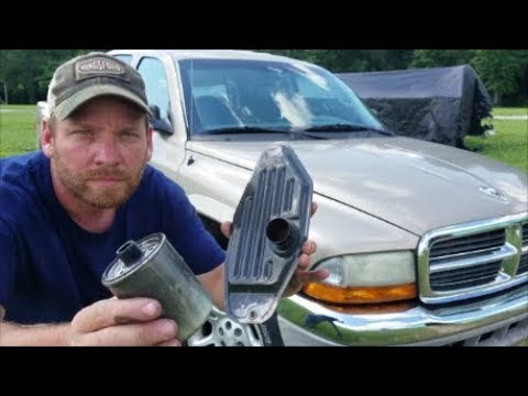 Dodge Dakota's have 2 TRANSMISSION FILTERS ?!?!  How to replace and check fluid level