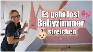 Die Vorbereitungen gehen los! I Babyzimmer streichen I + Baby Haul I Nati Vita