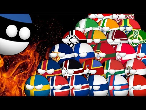 Countryballs Animated | The Estonian Nightmare
