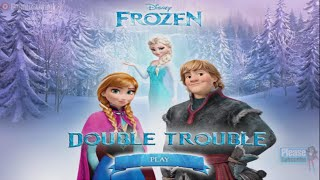 "Disney Frozen ""double Trouble"" Anna Krİstoff Platform Online Free Game Vİdeo"