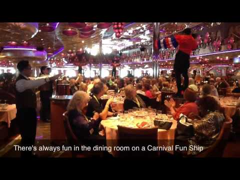 Travel Weekly Cruise World 2011 - Carnival Miracle Ship Inspection