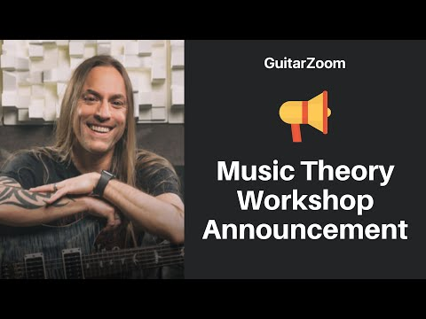 Music Theory Workshop Announcement