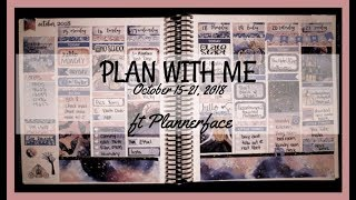 Plan With Me | ft Plannerface - Moonlight