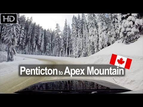 Penticton to Apex Mountain Resort - Scenic Drive BC Canada!
