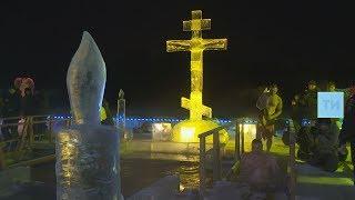 Верующих со всего Татарстана собрала крещенская служба в Раифском монастыре