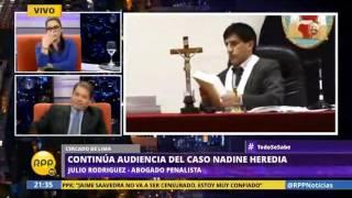 Entrevista al abogado penalista, Julio Rodríguez