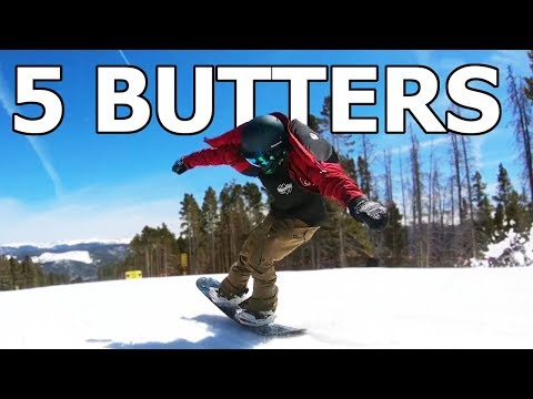 My Top 5 Personal Favorite Snowboard Butter Tricks