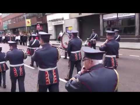 Ballymacarrett Defenders @ 36TH Ulster Division Review Centenary Parade 2015
