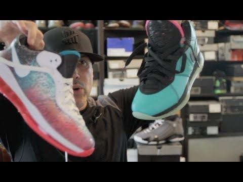 d467c7549f52f Nike Lebron James 8 V2 Miami Nights - YouTube