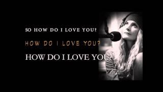 Jeniqua - How do I love you? (Official Lyric Video)