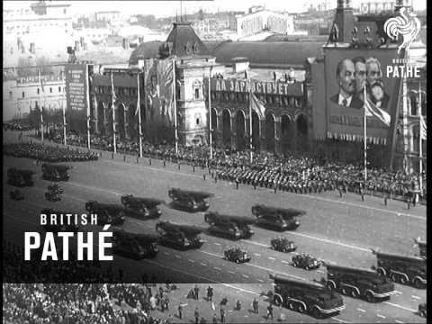 May Day Parade In Red Square (1967)