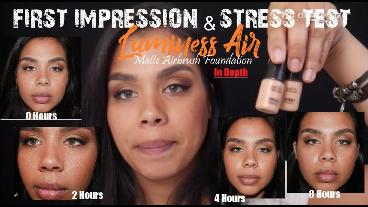 Luminess Air Matte Foundation Review Youtube