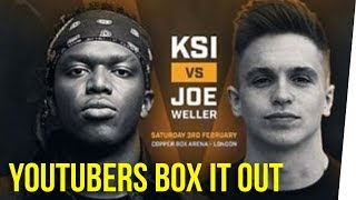 KSI & Joe Weller Box Out Their Problems ft. Nikki Limo & DavidSoComedy