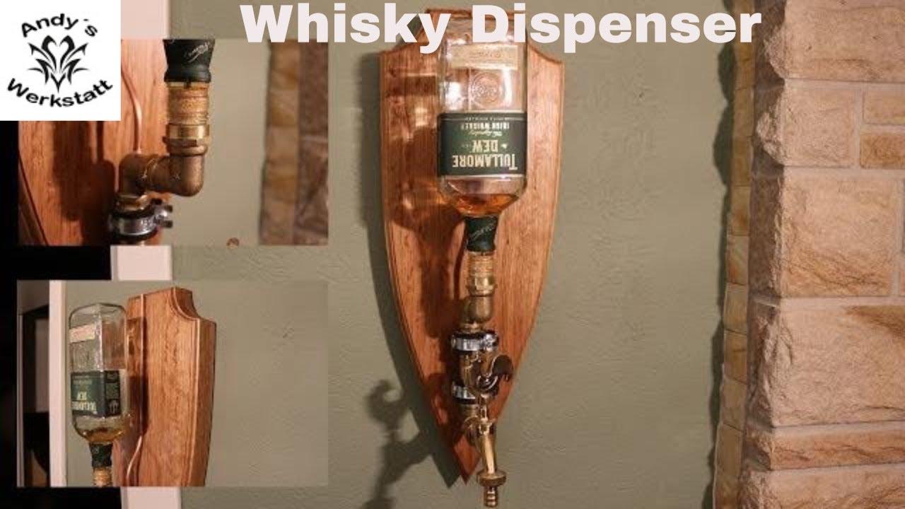 Berühmt Whisky/Rum/Likör Dispenser aus Eiche - diy - YouTube CS65