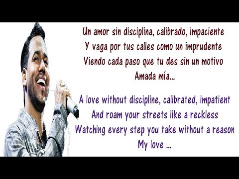 Romeo Santos - Necio Lyrics English and Spanish - Translation & Meaning - Foolish ft Santana