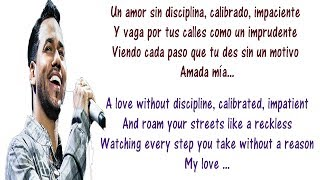 Romeo Santos - Necio Lyrics English and Spanish - Translation & Meaning - Foolish ft Santana