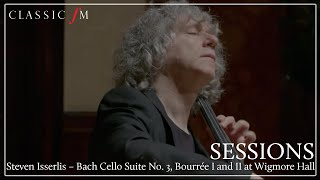 Steven Isserlis – Bach Cello Suite No. 3, Bourrée I and II at Wigmore Hall