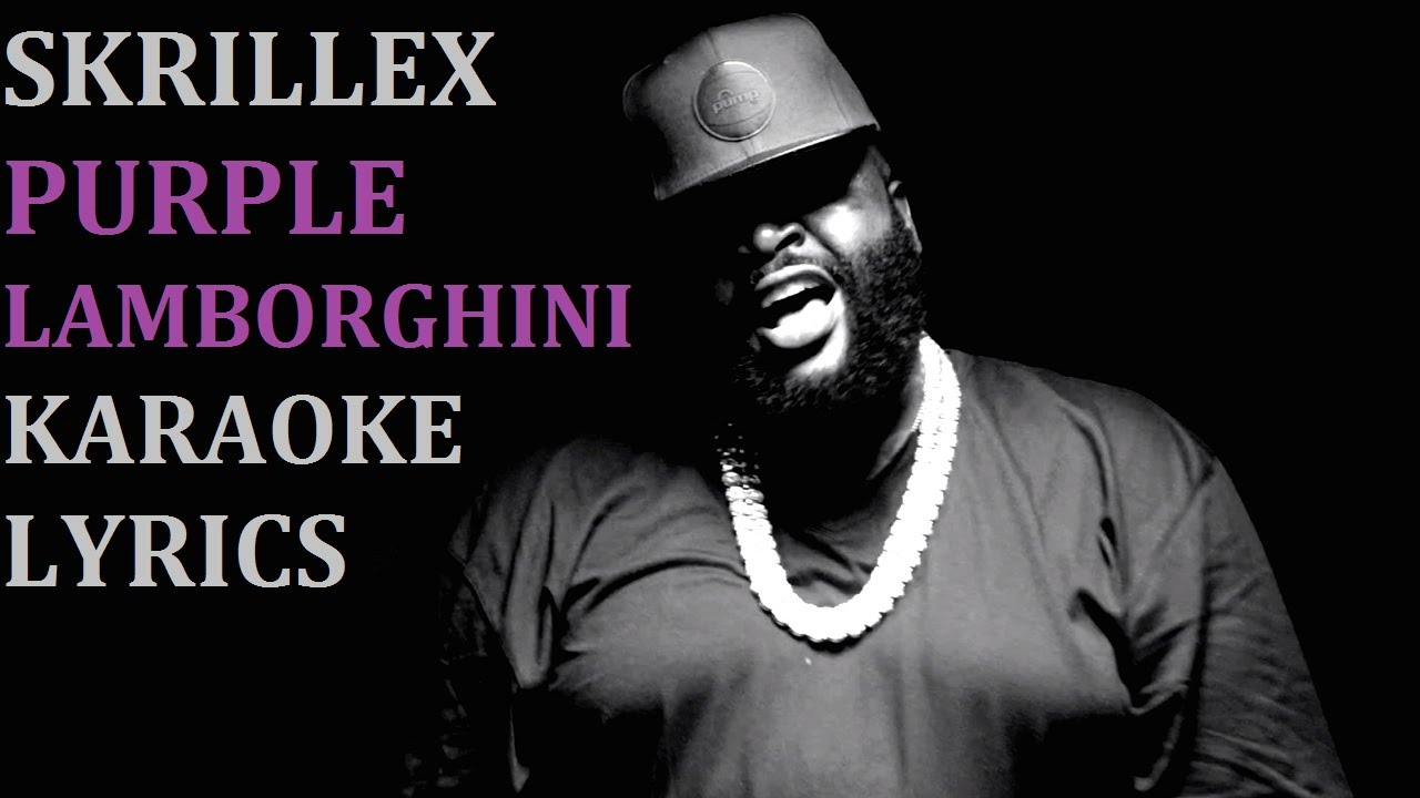 Skrillex Purple Lamborghini Feat Rick Ross Karaoke Cover
