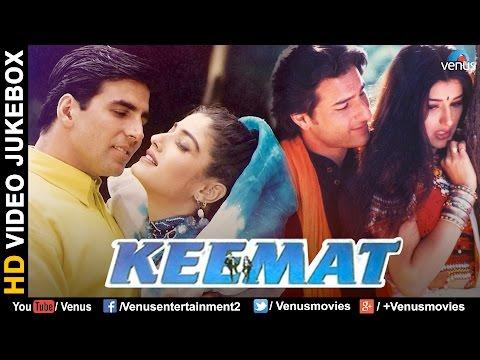 Keemat : Bollywood Romantic Songs | Akshay Kumar, Raveena, Saif, Sonali Bendre | VIDEO JUKEBOX