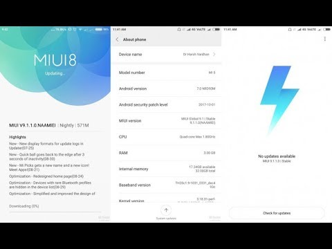 MIUI 9 global stable rom for MI5