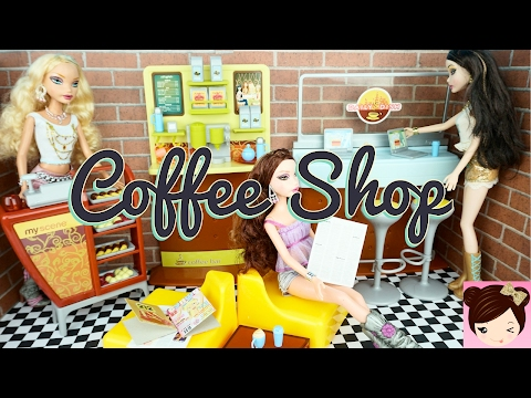 Weird Dolls That Change Face Expressions and Barbie Coffee Shop Playset - Titi Dolls