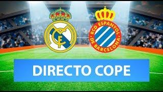 (SOLO AUDIO) Directo del Real Madrid 2-0 Espanyol en Tiempo de Juego COPE