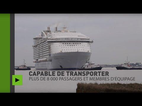 France : les premiers pas du plus gros paquebot du monde