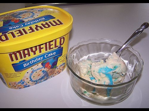 Mayfield Birthday Cake Ice Cream YouTube