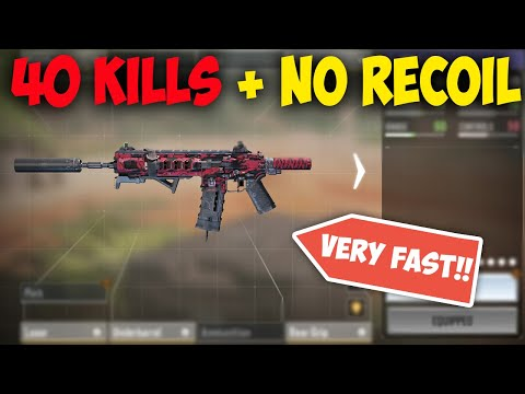 *NEW* ICR loadout with FAST Time to kill and NO RECOIL (40 KILLS NUKE)