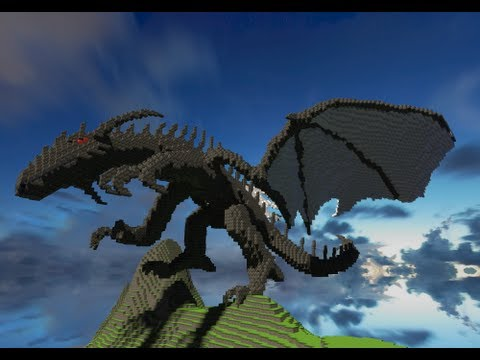 Minecraft Animation Wallpaper Minecraft Cinematic 3d Dragon Minecraft By Katariawolf
