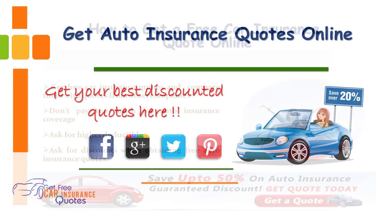 Get Car Insurance Quotes From Multiple Companies