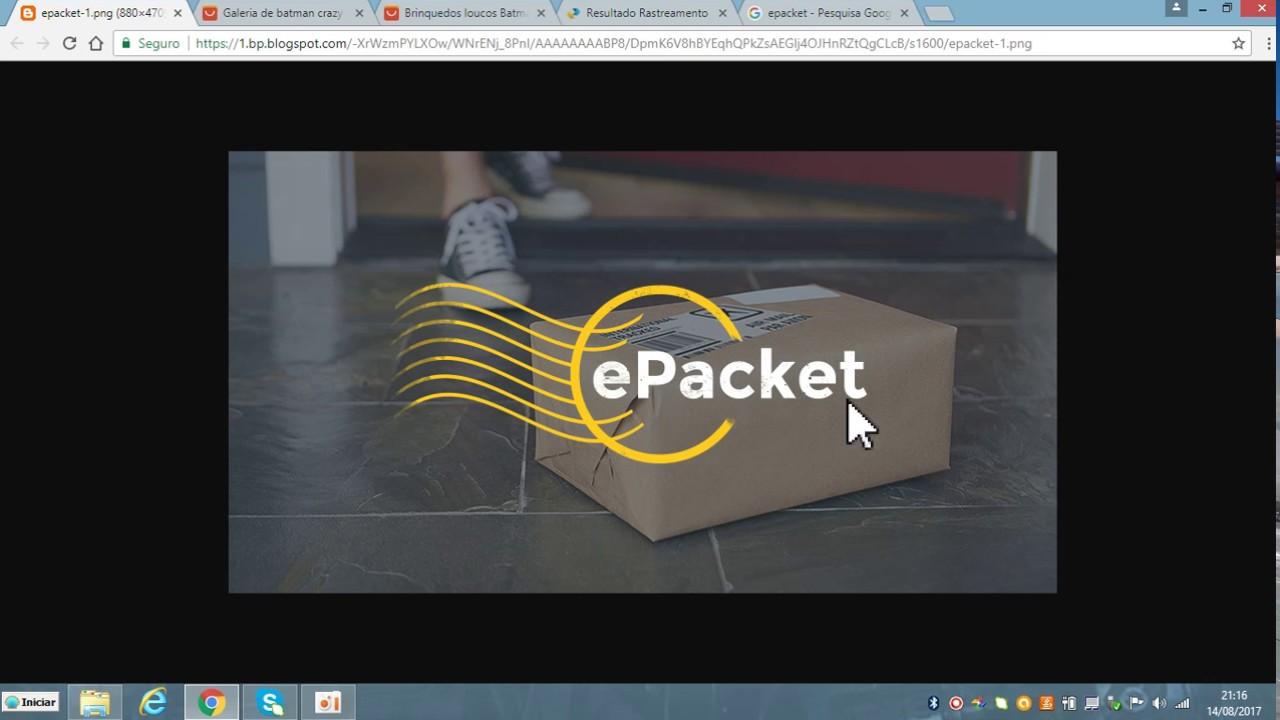 15ffb1f8f3e ePacket do Aliexpress