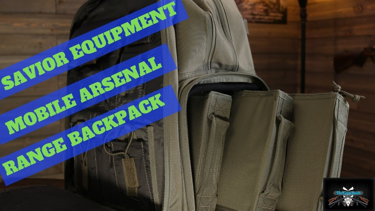 Savior Equipment Mobile Arsenal Backpack