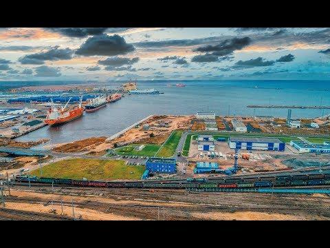 Развитие подходов к порту Усть-Луга