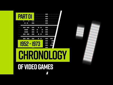Video Game Chronology (1952 - 1973) | Part 01 |