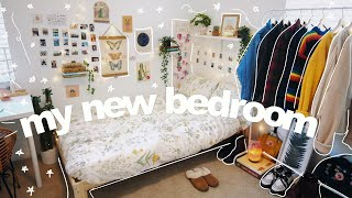 BEDROOM MAKEOVER ROOM TOUR (cozy aesthetic bedroom of my dreams)