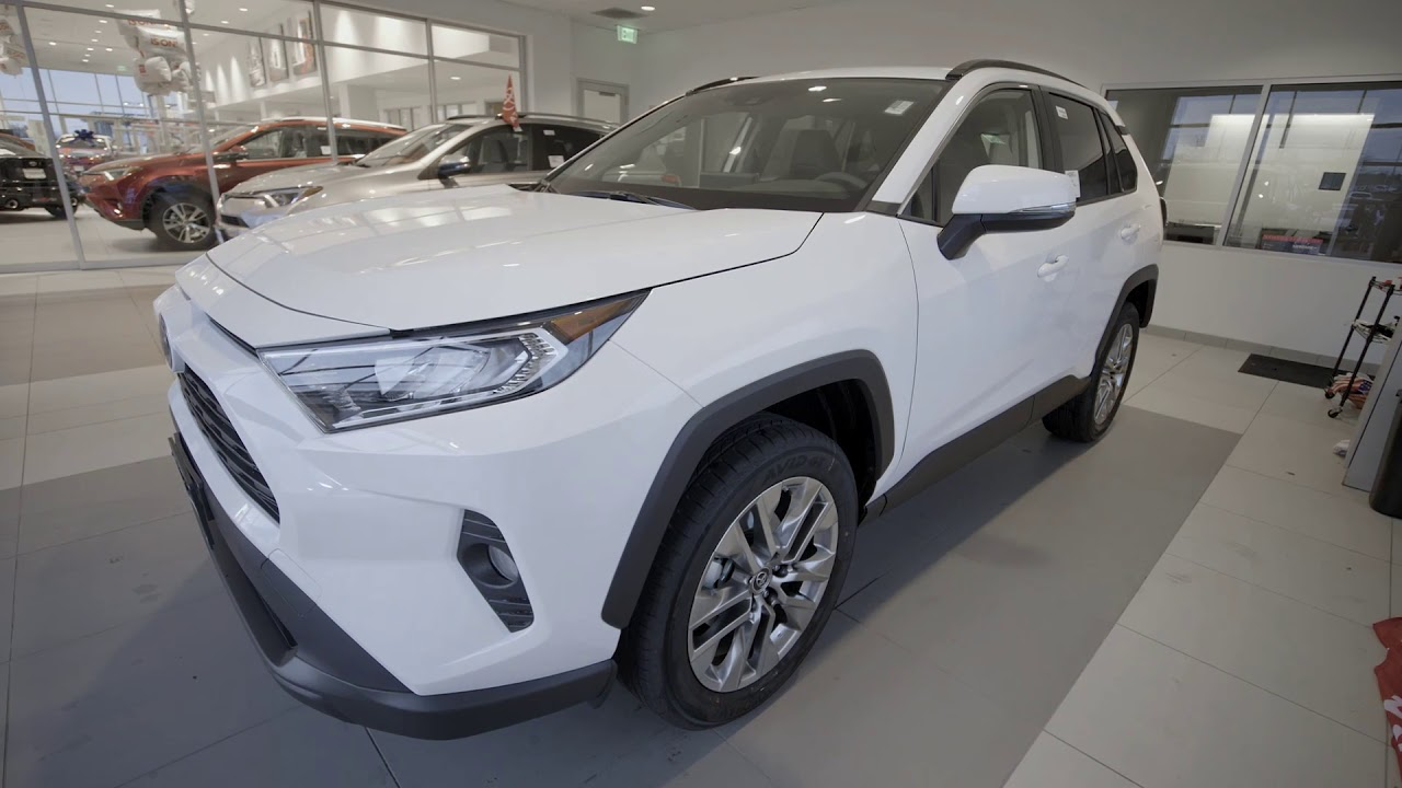2019 Rav4 With Kim At Anderson Toyota In Rockford Il Youtube