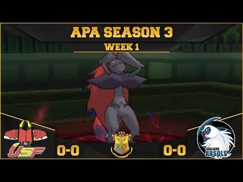 No Illusion - APA Week 1 vs Adelaide Absols