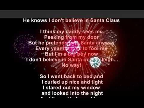 It Must've Been Ol' Santa Claus  - Christmas Lyrics