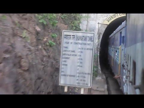 Full Coverage of Bhanwar tonk Ghats, Chhattisgarh : Onboard BGKT-VSKP Express