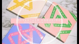 Baixar [UNBOXING] SEVENTEEN 5th Mini Album 'You Make My Day' - All Versions