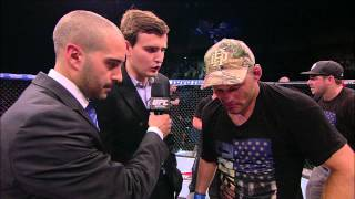 Fight Night Natal: Dan Henderson Octagon Interview