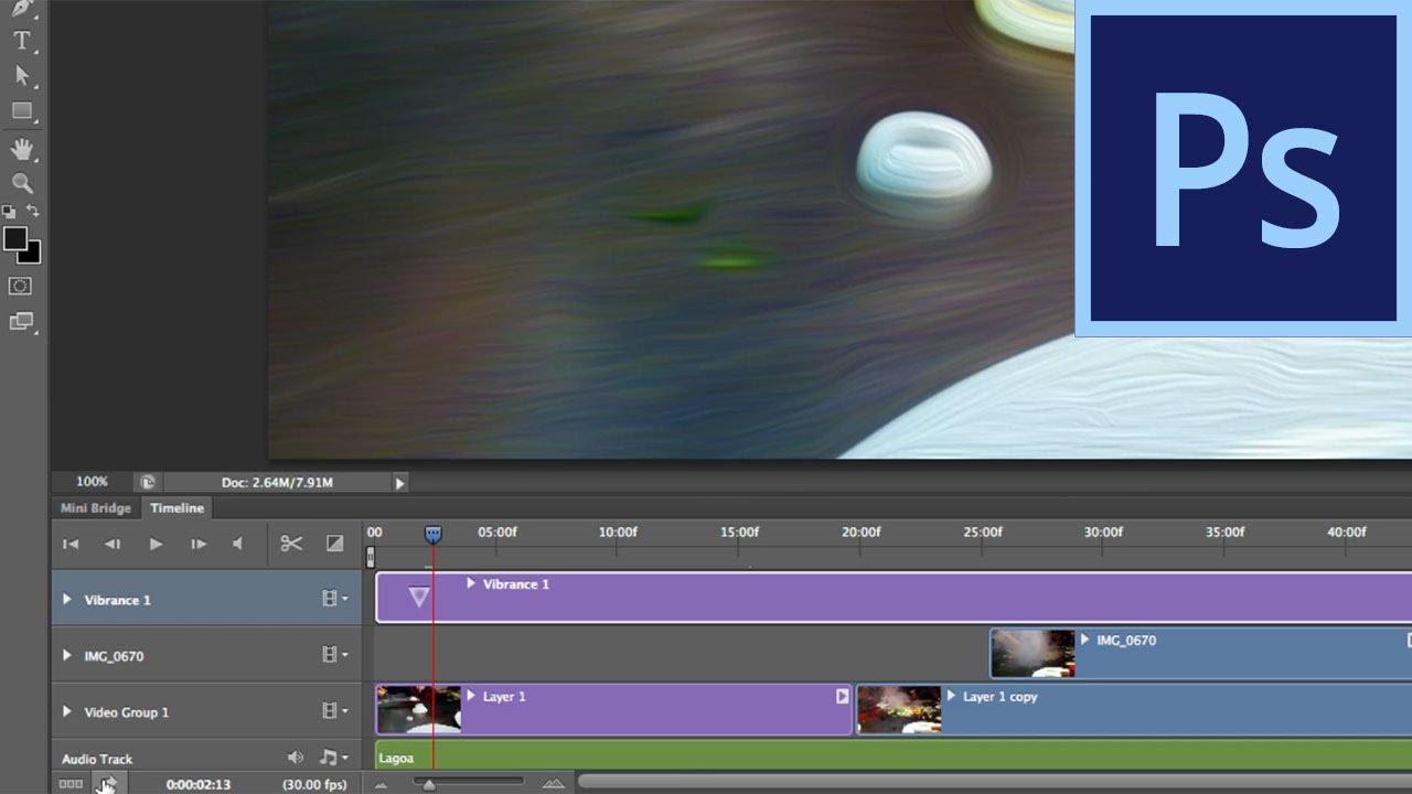 Photoshop CS6: Video Editing Improvements | - YouTube