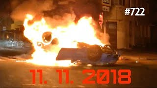 ☭★Подборка Аварий и ДТП/Russia Car Crash Compilation/#722/November 2018/#дтп#авария