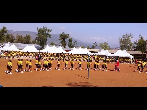 Students in Rwanda complete school year