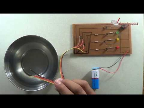 Make a Water Level Indicator at Home ( Hindi / Urdu )