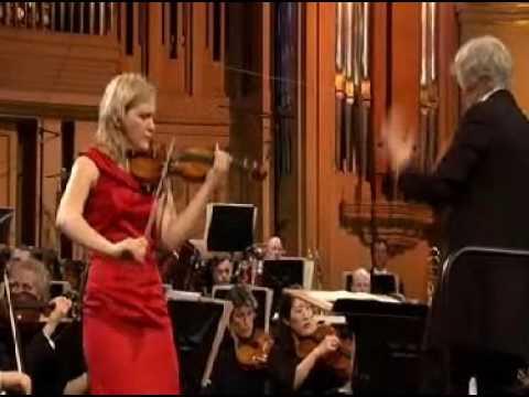 Vineta Sareika | Elgar Violin Concerto | 3rd Mvt | Queen Elisabeth Violin | 2 of 2 | 2009