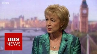 Leadsom: Carney made 'incredibly dangerous intervention' - BBC News
